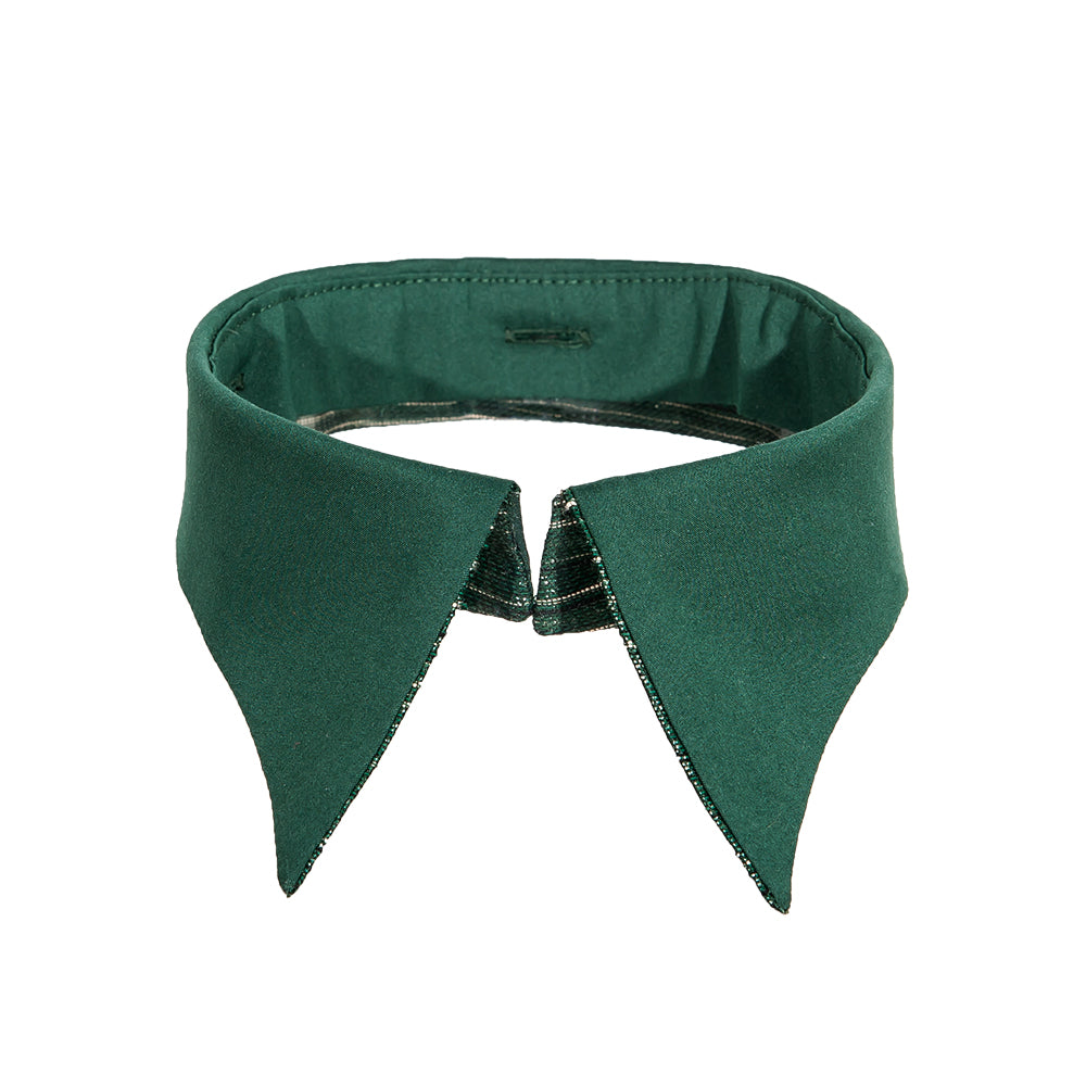 Retro collar green