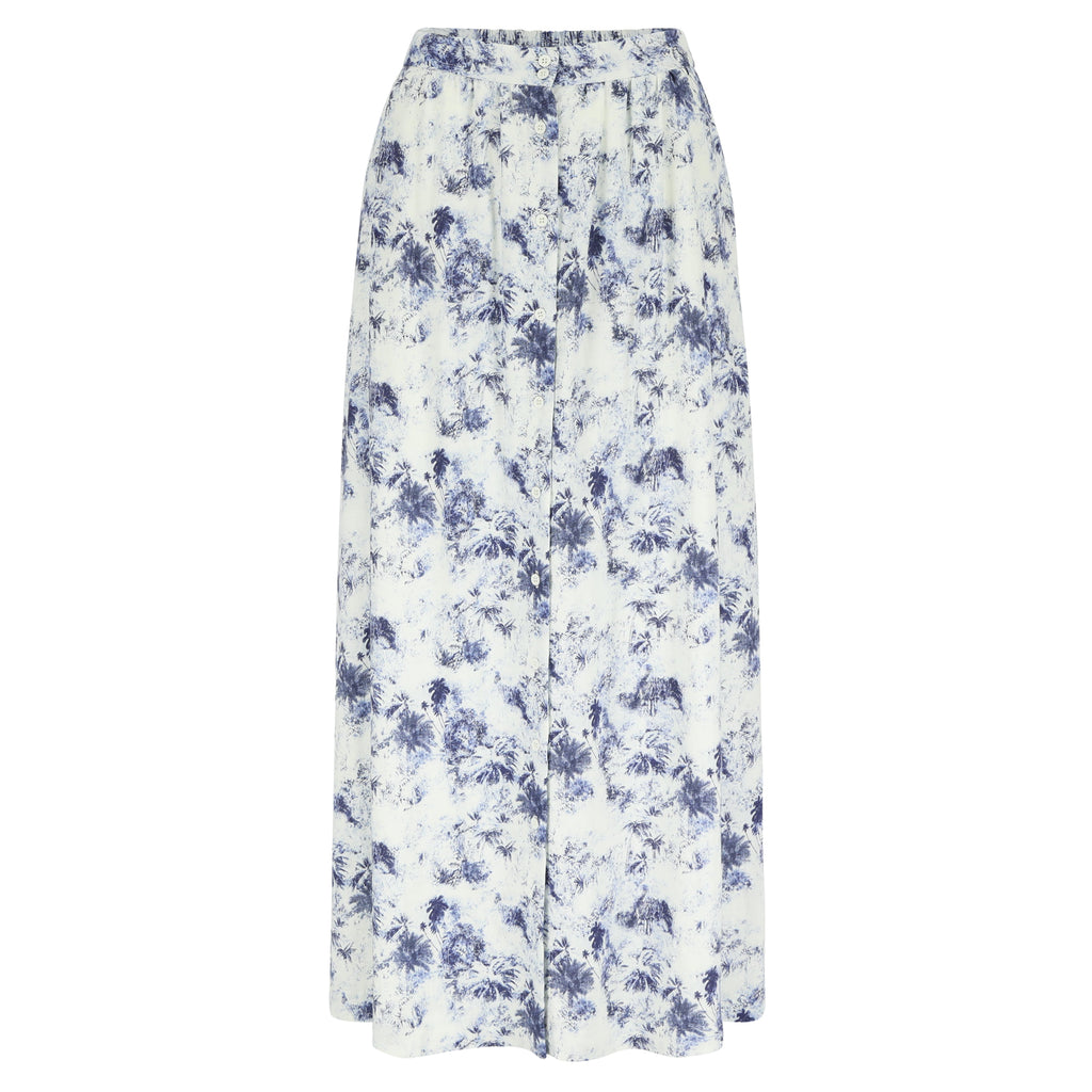 Kreta skirt blue jungle