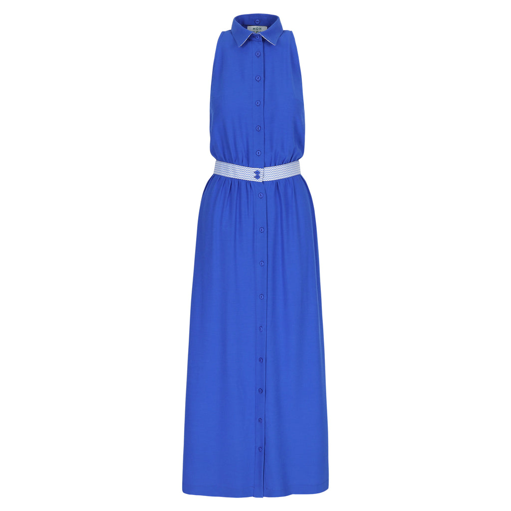 Alexa maxi dress royal blue