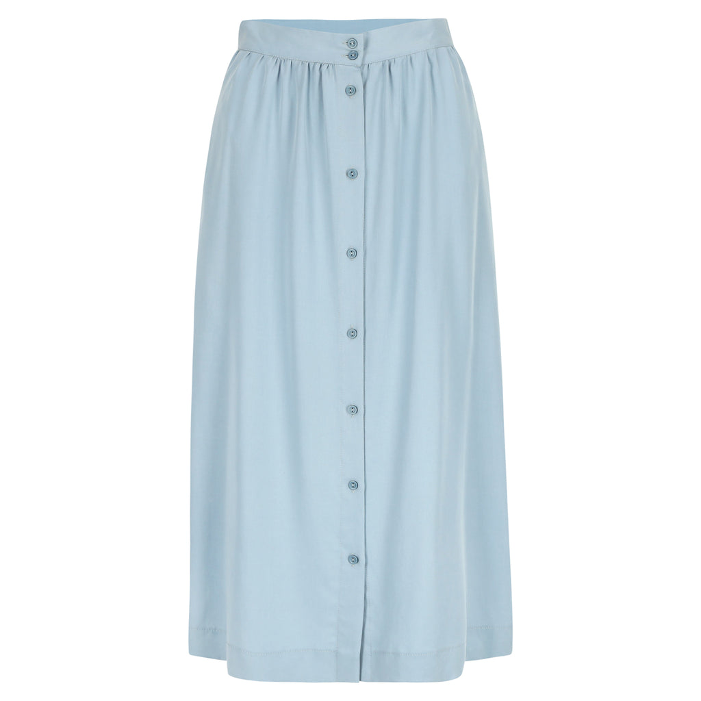 Elba skirt light blue