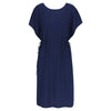 Summer Dress Navy palmtree