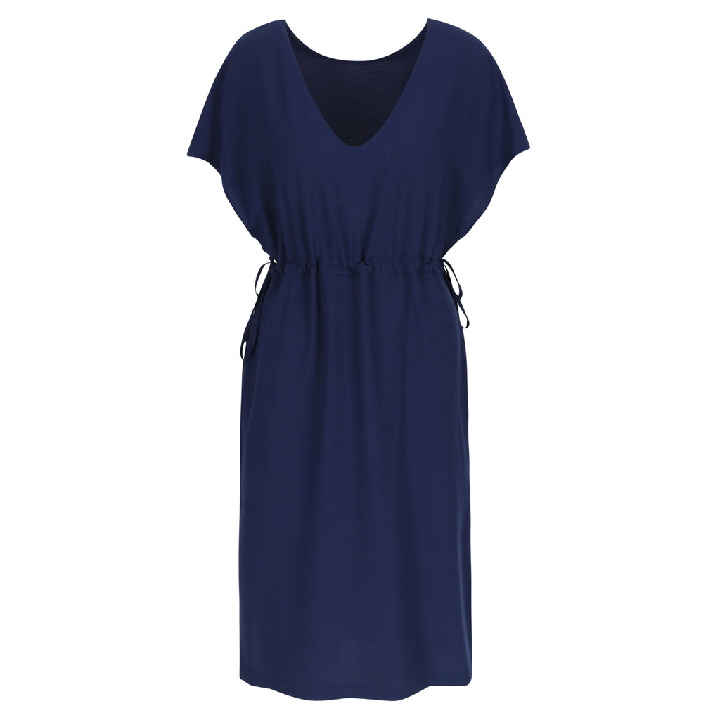 Twist dress navy - Last size: 40
