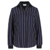 Polly blouse navy stripe