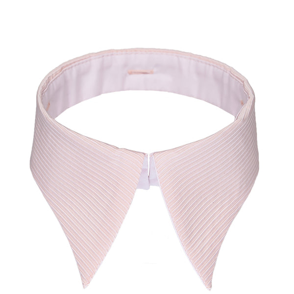 Retro collar pink stripes