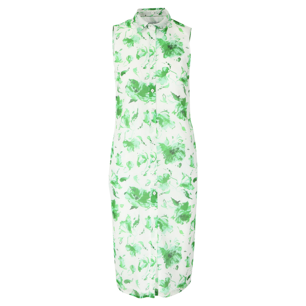 Venice dress green flower