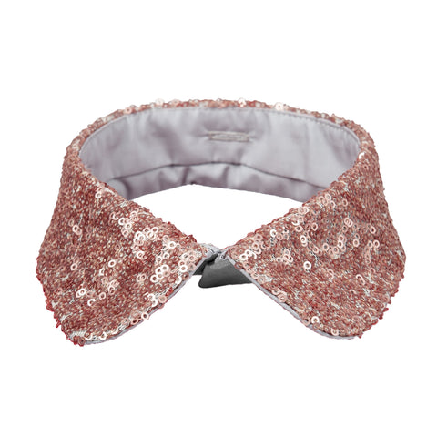 Retro collar burgundy red