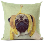 View Exclusive PUG Pillows