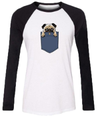 View PUG Shirts & Tops for Women