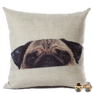 Aftherbath Pug Pillow Case Pillows