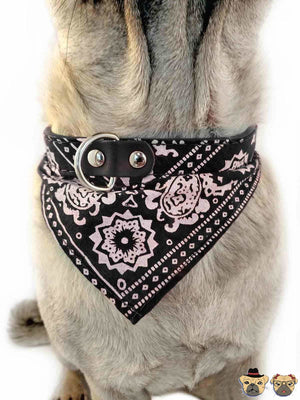 Bandanna For Dogs - Black Collars