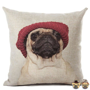 Chill Pug B Pillow Case Pillows