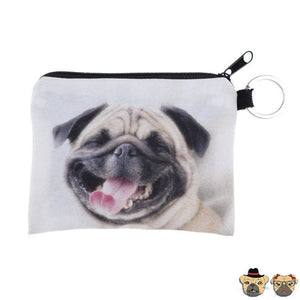 Hilarious Pug Coin Purse Purses