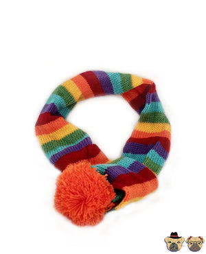 Knitted Rainbow Set For Dogs Clothing