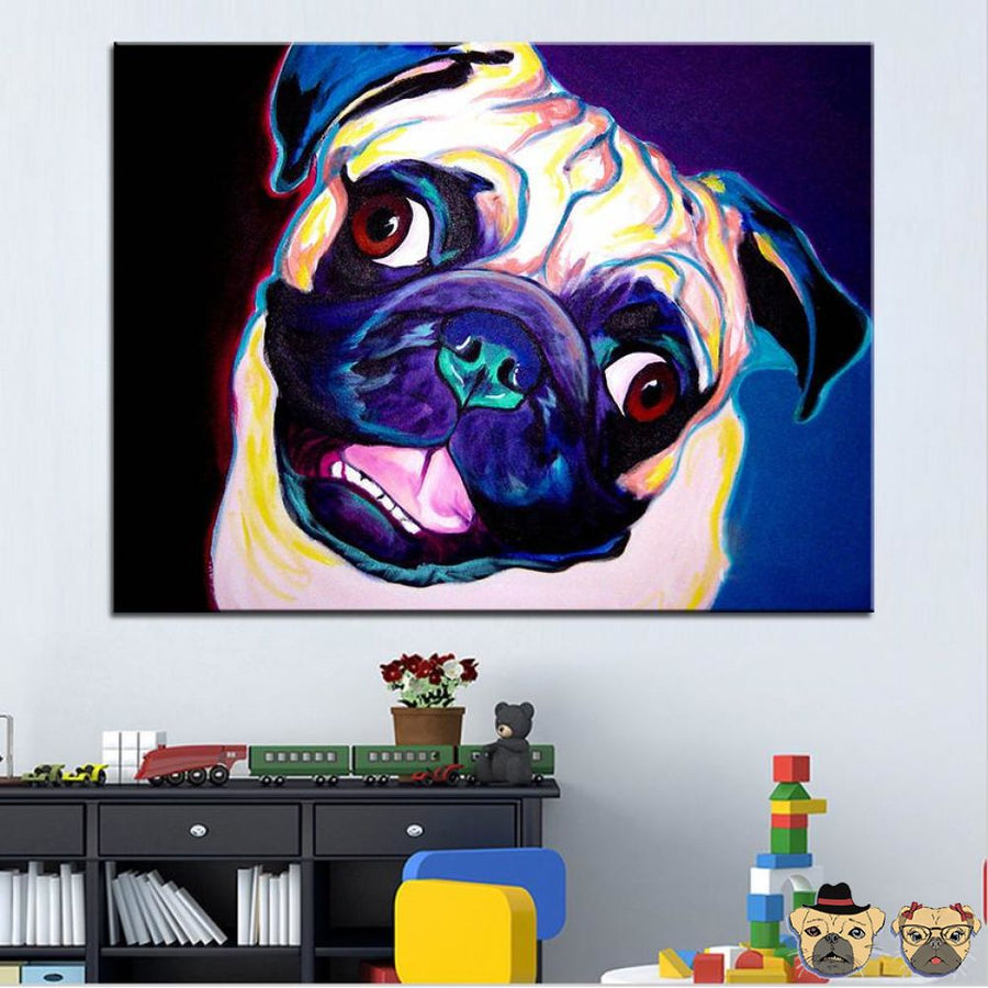 Much Pugness Canvas