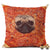 Pizza Pug Pillow Case Pillows
