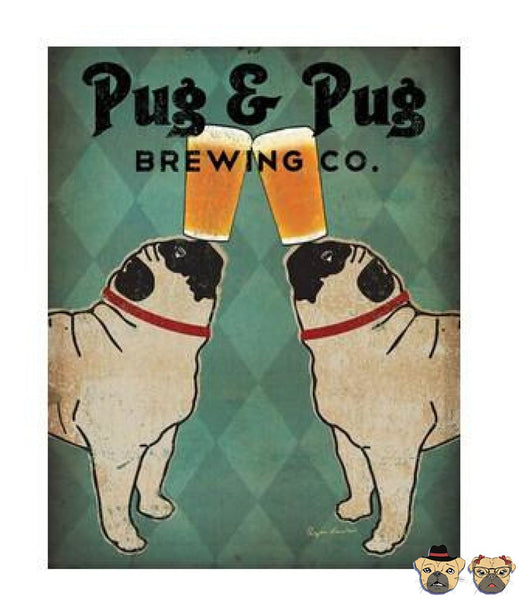 Pug & Brewing Co. Canvas