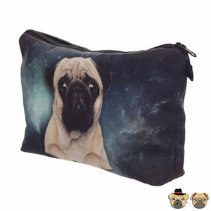 Pug Galaxy Pencil Purse Purses