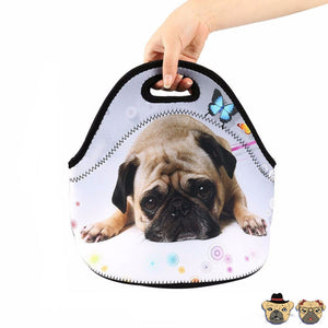 Pug Lunch Bag Bags