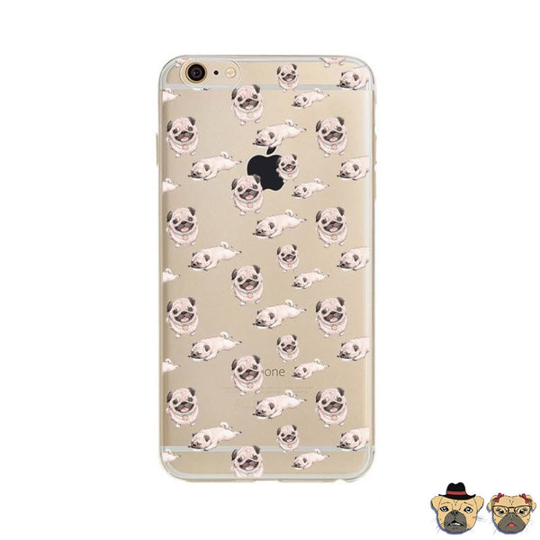 Pug Positions Iphone Case Phone Cases