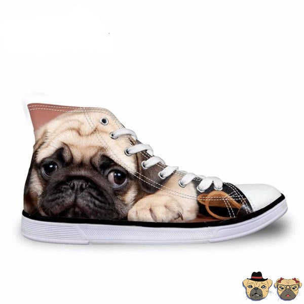 Pug Puppy Shoes