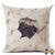 Pugshmallow Pillow Case Pillows