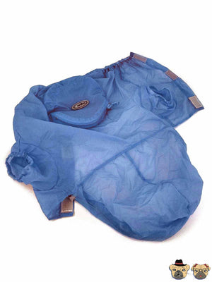 Raincoat For Dogs - Blue Clothing