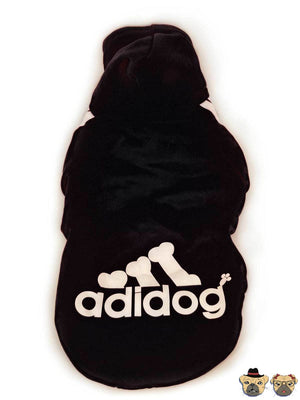 Street Hoodie For Dogs - Black Dog Clothing