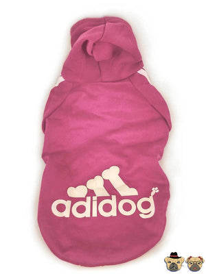 Street Hoodie For Dogs - Pink Clothing