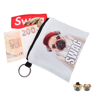 Swag Pug Coin Purse Purses
