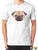 Triangles Pug T-Shirt T-Shirts