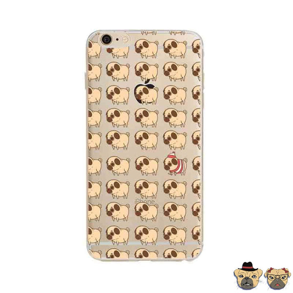 Where's Pug Iphone Case Phone Cases