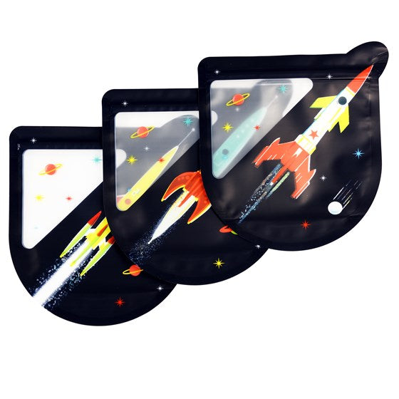 Reusable Snack Bags - Space Age