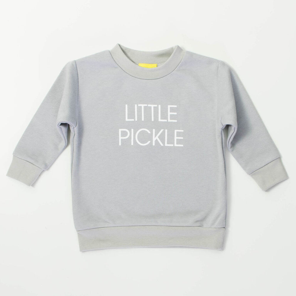 Little Pickle Sweatshirt - Grey