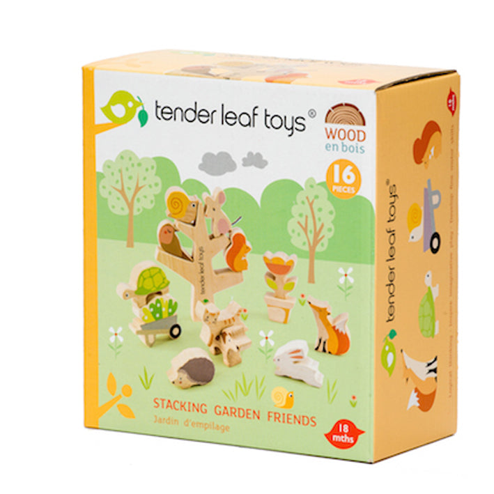 Tenderleaf Stacking Garden friends. Toy shop Hitchin