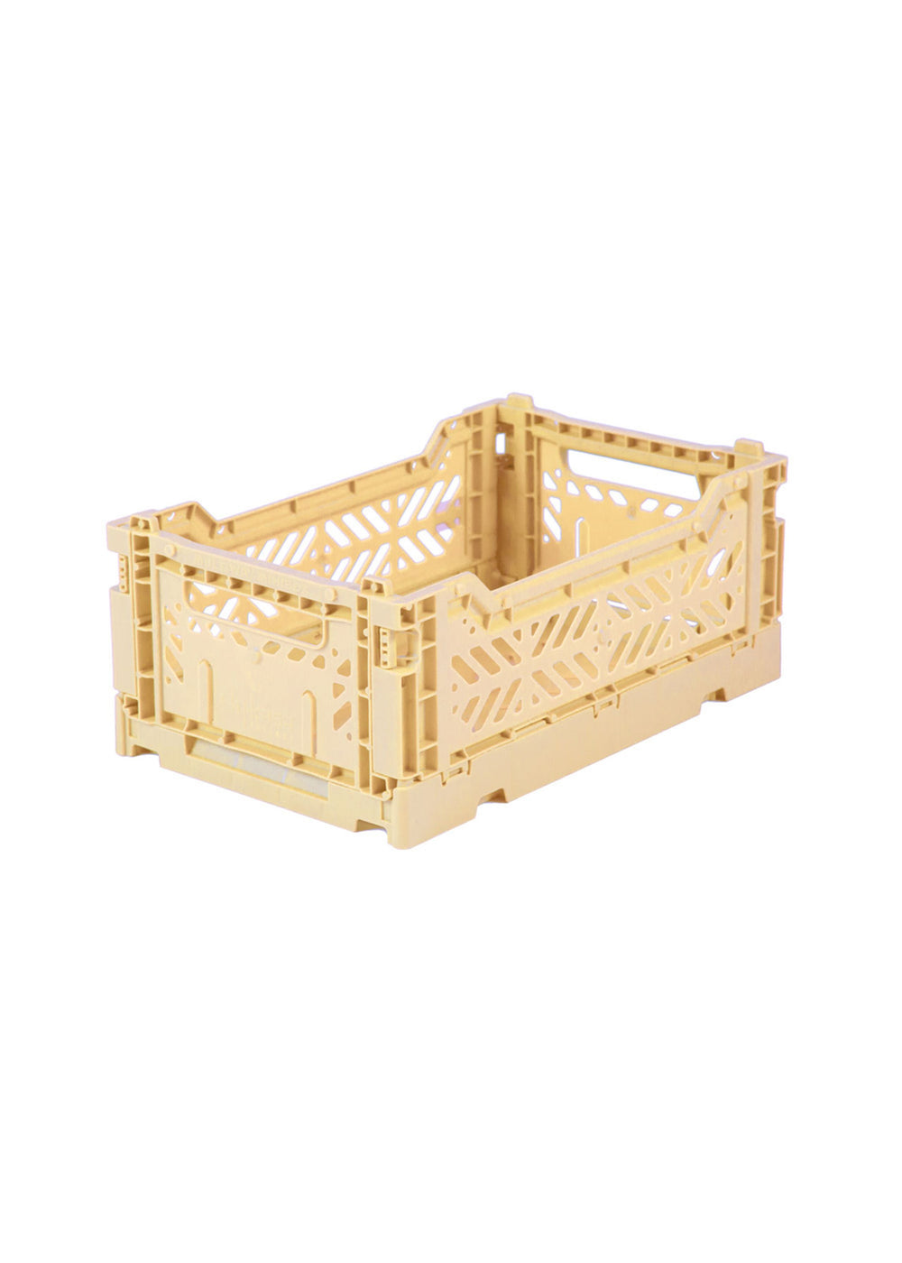 Folding Storage Crate - MINI - Banana Yellow