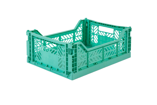 Folding Storage Crate - MIDI - Mint