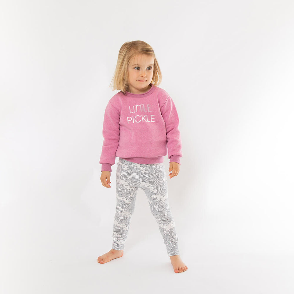 Little Pickle Sweatshirt - Pink