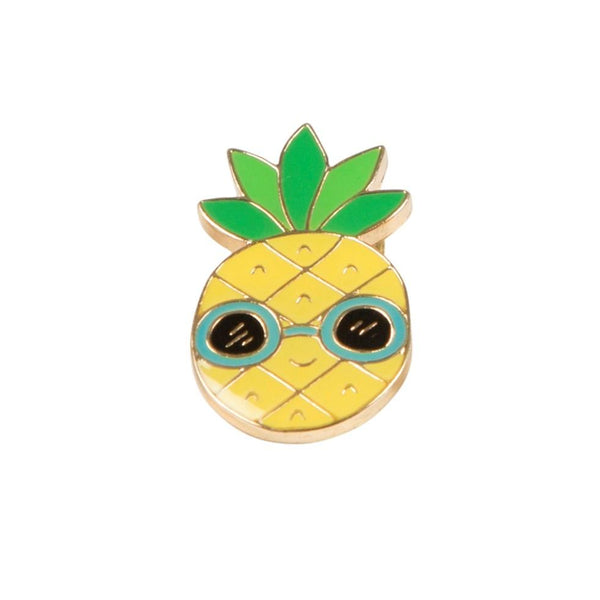 Pineapple Pin Badge - Badge