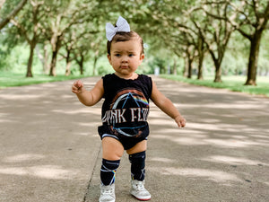 Custom Upcycled Bummie Shorts Romper