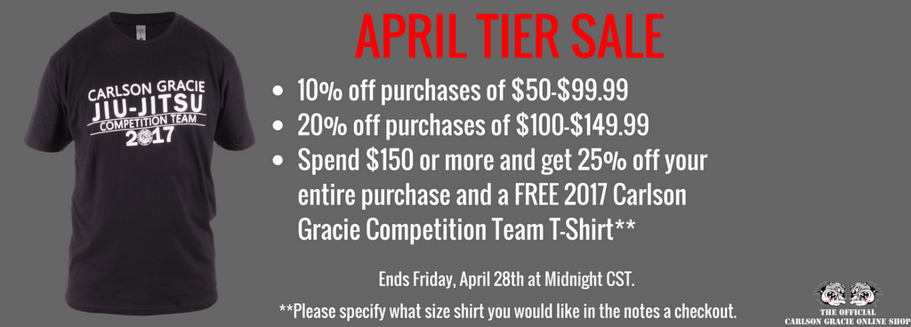 April Tier Sale!