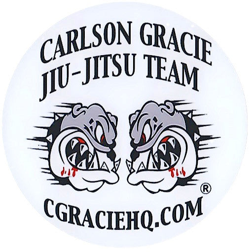 "Carlson Gracie Jiu-Jitsu Team Sticker - 5"" Round"
