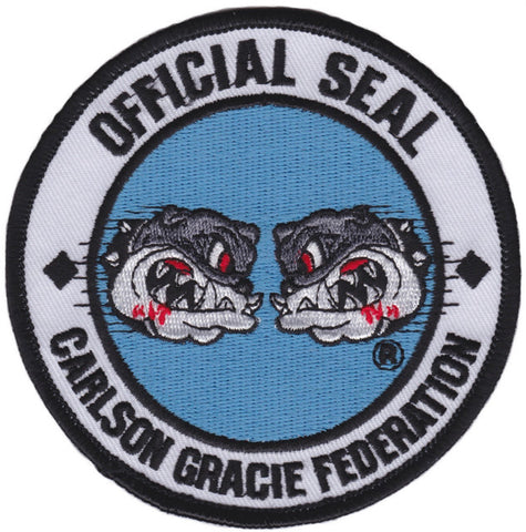 "Carlson Gracie Federation ""Official Seal"" Patch  - Small"