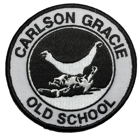 Carlson Gracie Old School Patch  - Small
