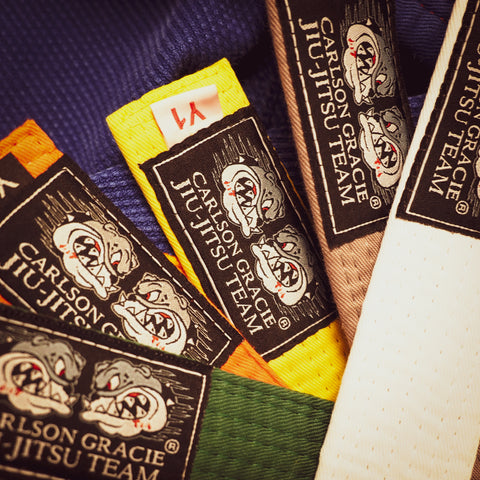 Official Carlson Gracie Jiu-Jitsu Team Kids Belts