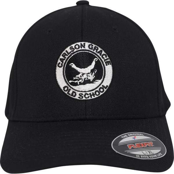 Old School Carlson Gracie Logo Baseball Hat