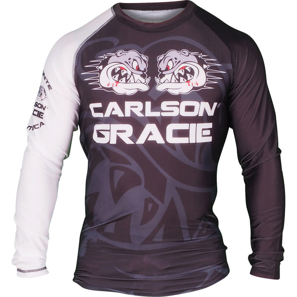 Official Carlson Gracie Long Sleeve Ranked Rash Guard