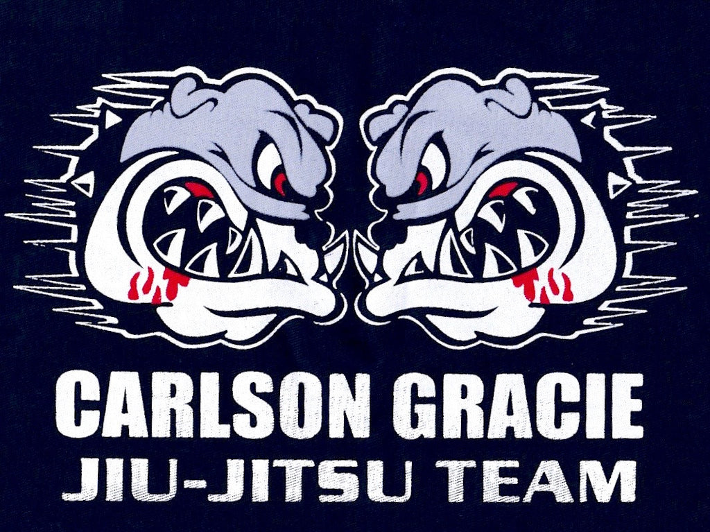 Carlson Gracie Jiu-Jitsu Team Cloth Patch