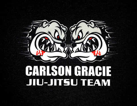 Carlson Gracie Jiu-Jitsu Team Dye Sublimated Patch
