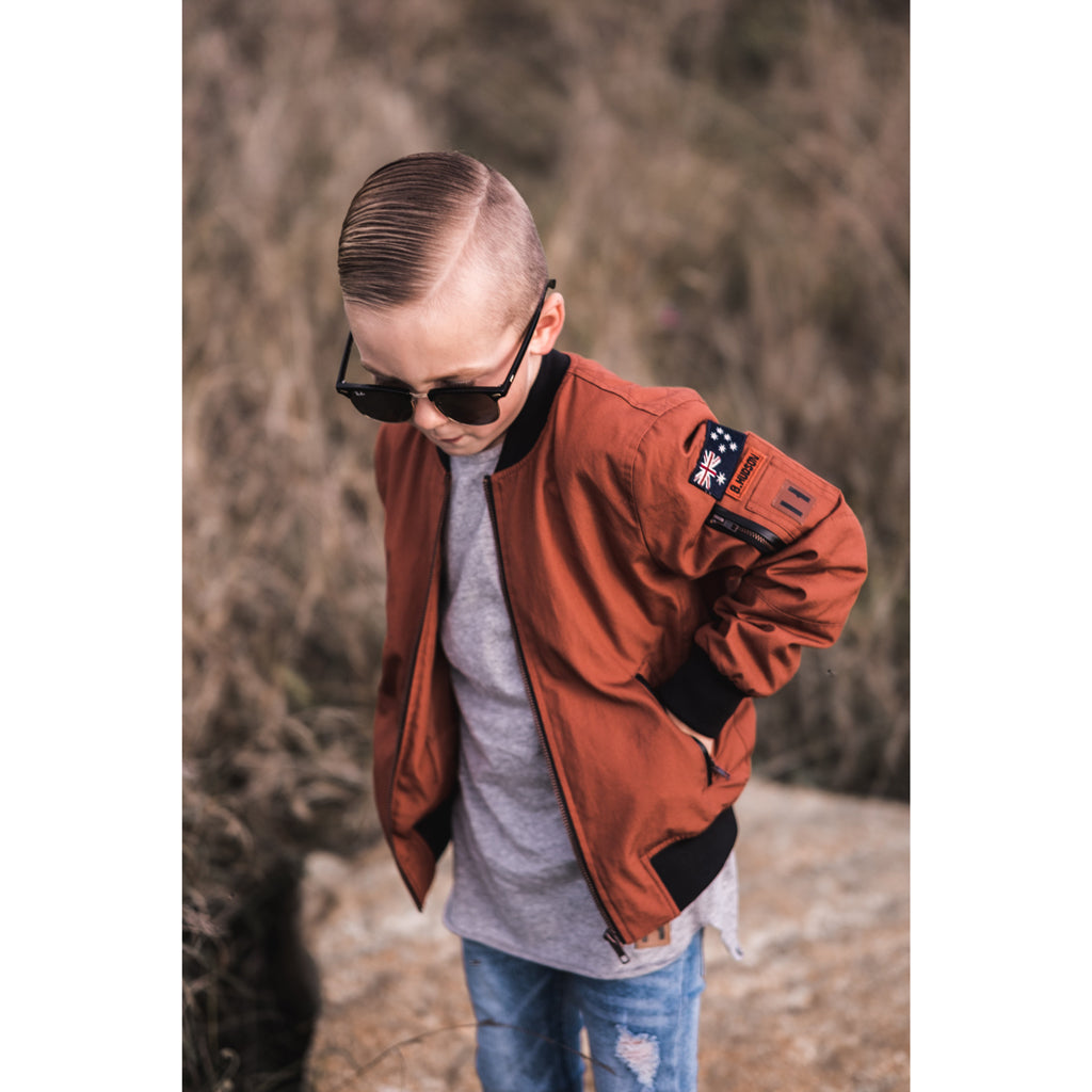 Outback Kids Bomber Jacket