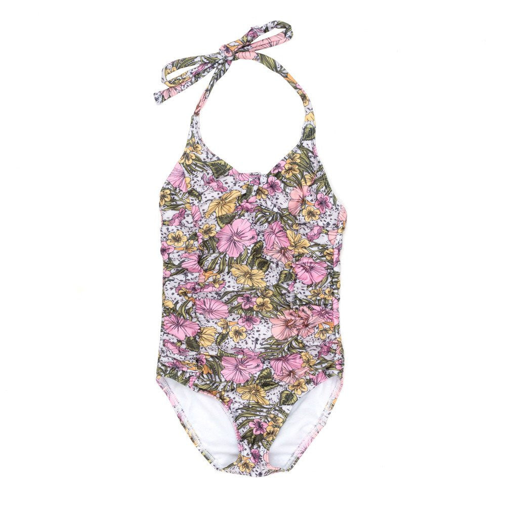 Forever Flower One Piece Swimsuit